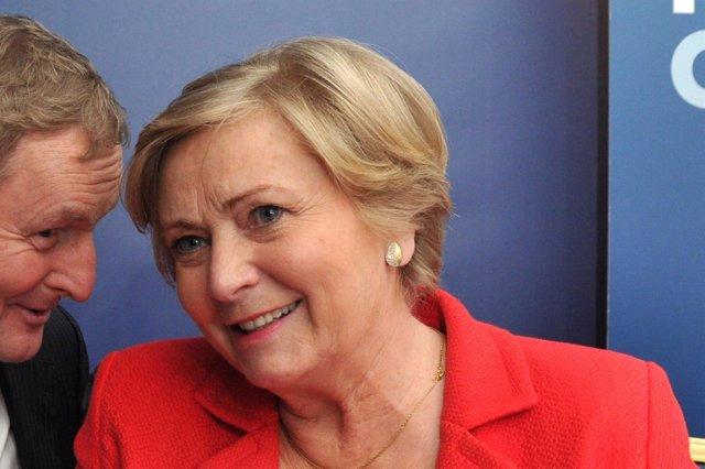 Frances Fitzgerald, viceprimera ministra de Irlanda