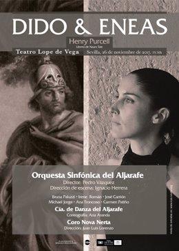 La ópera 'Dido y Eneas' llega al Teatro Lope de Vega