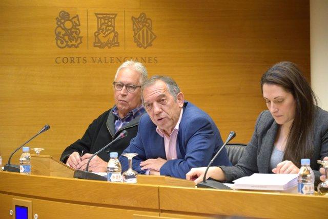 Miguel Soler en las Corts