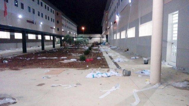 """CSIF-A lamenta los """"daños"""" en la cárcel de Archidona"""