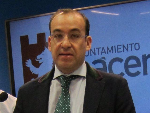 Rafael Mateos, portavoz del Gobieno local de Cáceres