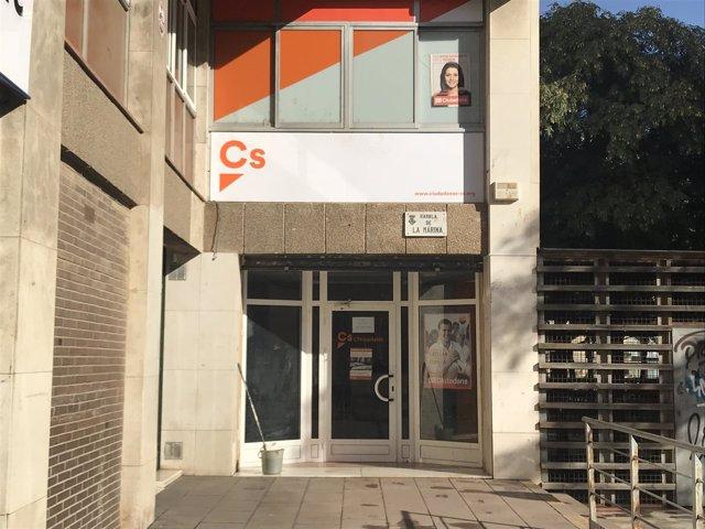 Sede de Cs en L'Hospitalet de Llobregat (Brcelona)