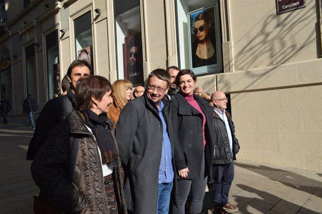 Xavier Domènech ha presentado la lista de CatECP por Lleida
