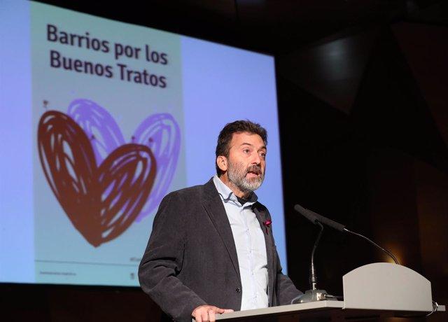 Mauricio Valiente, concejal de Ahora Madrid en el Ayuntamiento de Madrid