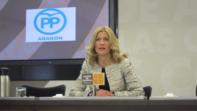 La portavoz del PP en las Cortes autonómicas, Mar Vaquero.