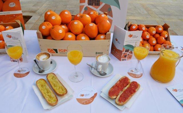 Desayuno valenciano