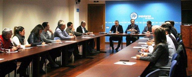 Imagen de la reunión PP