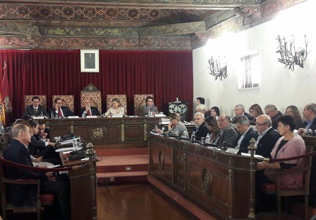 Valladolid. Pleno de la Diputación