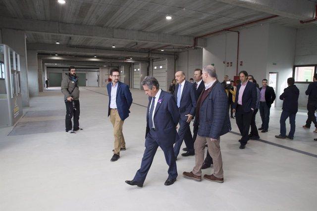 Inauguración de la nueva lonja de Colindres