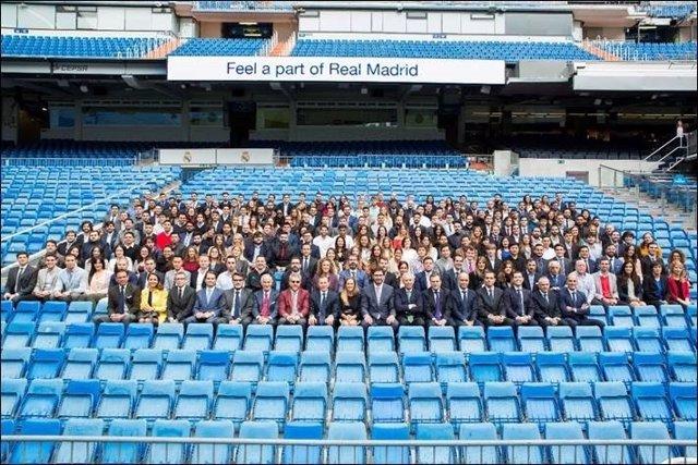 Inauguración del curso académico de la Escuela del Real Madrid-UE