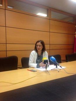 Rueda de prensa Susana Hernández