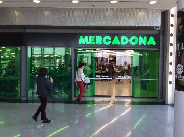 Tienda de Mercadona en AireSur.