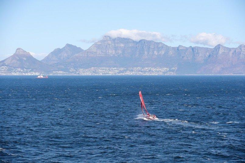 El 'MAPFRE' se lleva la victoria en la etapa Lisboa-Ciudad del Cabo