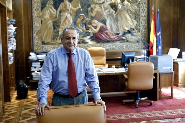 Emilio Lora-Tamayo, presidente del CSIC