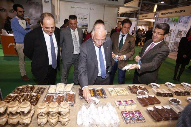 Los productos de 'Sabores Almería' estarán presentes en 'Ferial +'.