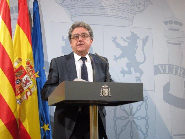El Delegado Del Gobierno Enric Millo