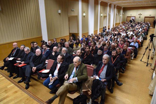 Asistentes al I Congreso Internacional sobre Cultura Mozárabe