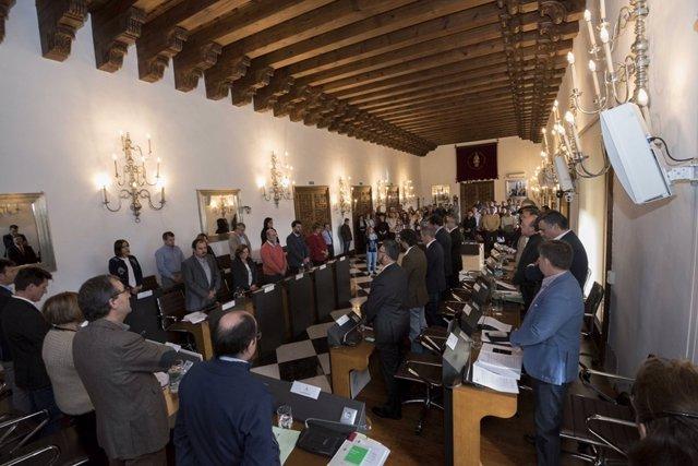 Nota Aprobación De Presupuestos Diputación De Cáceres