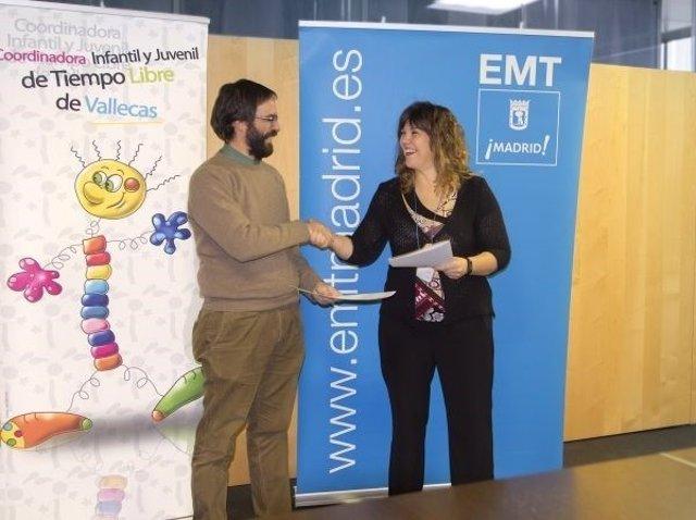 Convenio de colaboración entre EMT y coordinadora juvenil vallecas
