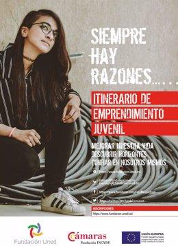 La UNED impartirá una acción de emprendimiento juvenil en Almería.