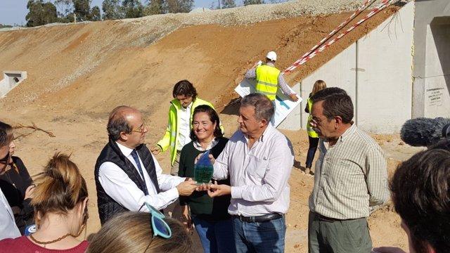 Entrega del Premio Green Award al proyecto 'Andalusian Lynx Reintroduction'.