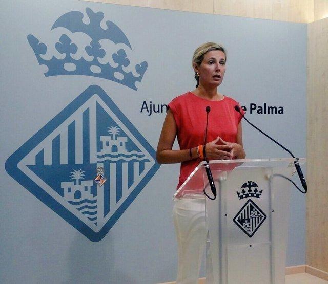 La regidora de Cs en el Ayuntamiento de Palma, Patricia Conrado