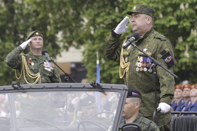 Igor Plotnitski, líder de la República Popular de Lugansk