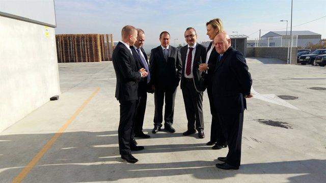 Inauguración de la planta de la industria Alternative Swine Nutrition en Fraga