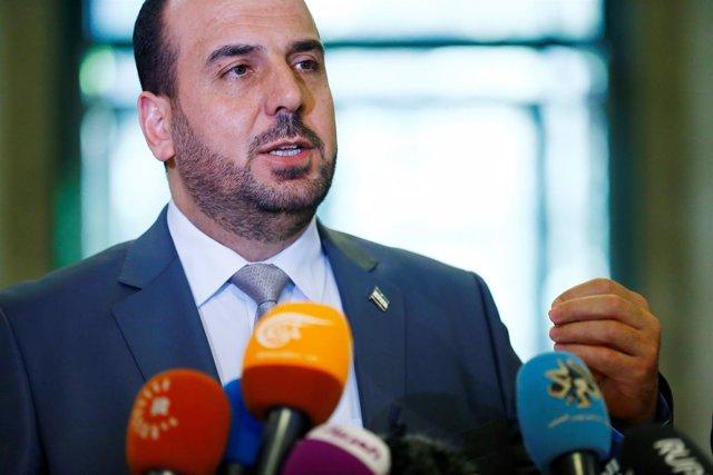 Nasr al Hariri, jefe del Alto Comité para las Negociaciones en Siria
