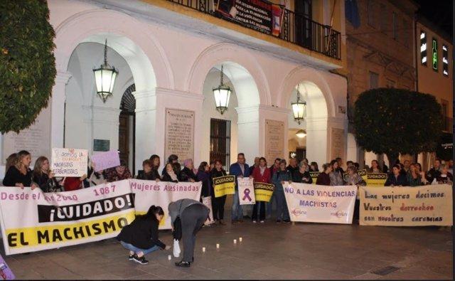 Concentración Mérida