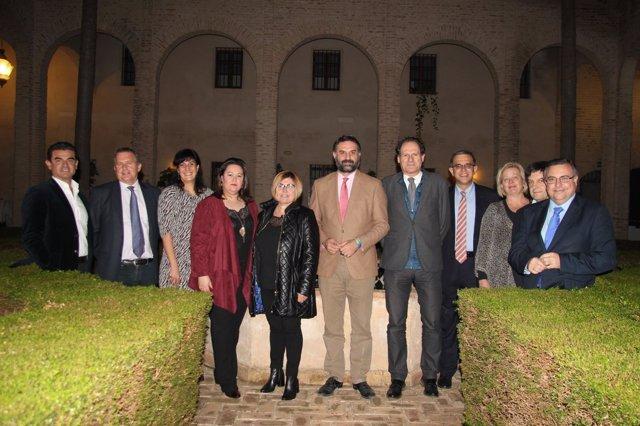 Inauguración del I Seminario Internacional de Turismo Sostenible y Geoparques