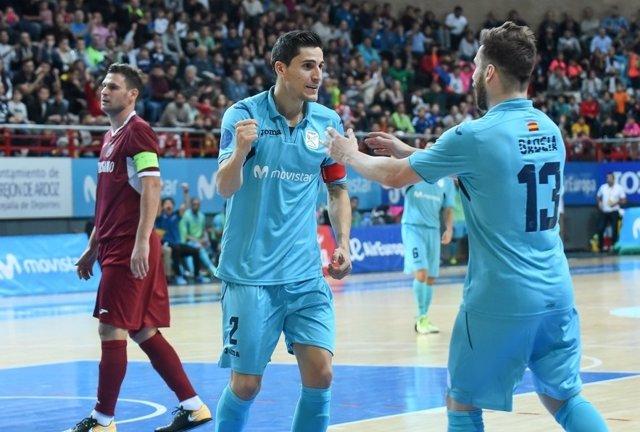 Movistar Inter derrota al Deva en la UEFA Futsal Cup