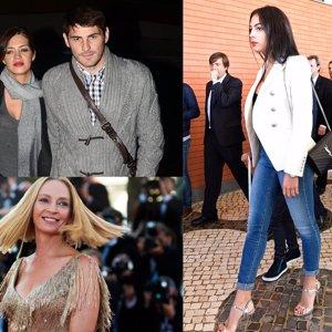 El dolor de Casillas y Carbonero, el grito desesperado de Uma Thurman y la revelación de Georgina Rodríguez