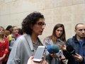 ROVIRA DICE QUE LA LISTA DE ERC CONTRIBUYE A LA IGUALDAD DE LAS MUJERES EN POLITICA