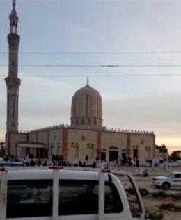 Mezquita de Al Rawdah en Egipto