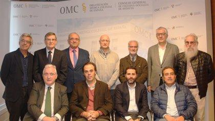 Rodríguez Sendín, nuevo presidente de la Comisión Central Deontológica de la OMC