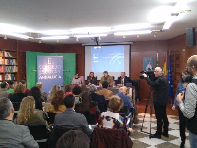 Reunión del Consejo Escolar de Andalucía