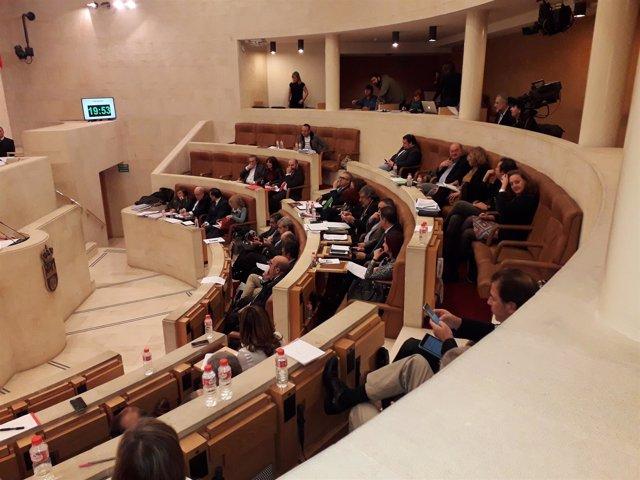 Pleno enmiendas totalidad