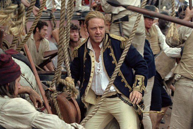 Russell Crowe en Master and Commander