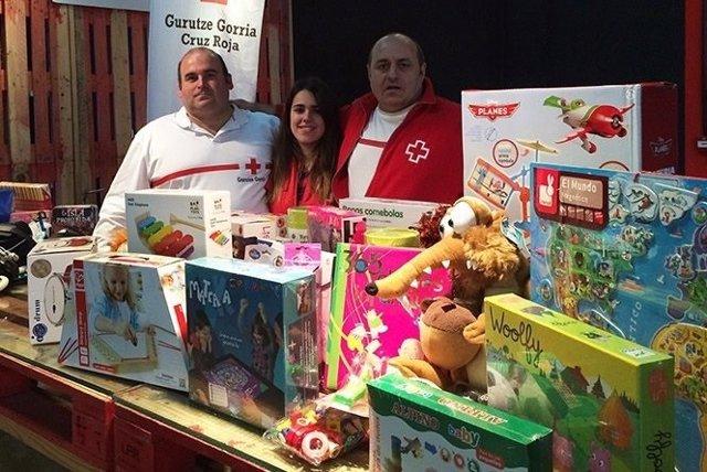 Campaña de juguetes de Cruz Roja Gipuzkoa