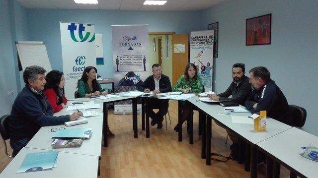 Jurado premio Cooperativismo de Cádiz