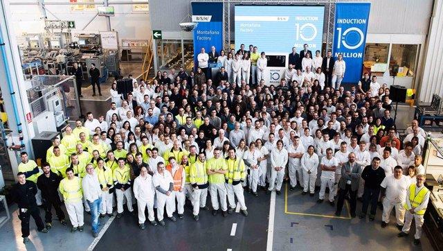 BSH España fabrica 10 millones de placas de inducción