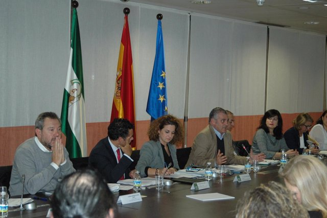 Reunión del Consejo Andaluz de Comercio