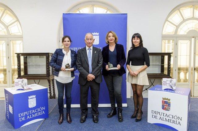 Margarita Ibáñez gana el Certamen de Ensayo 'Carmen de Burgos' de 2017.