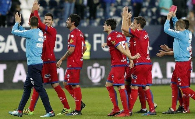 El Numancia se mete en octavos de Copa del Rey