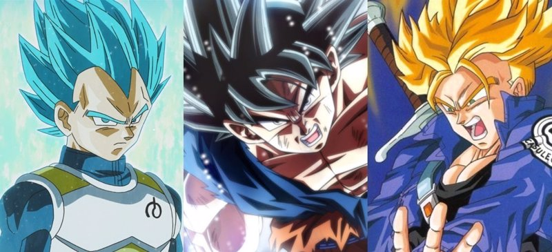 Dragon Ball Super: Las transformaciones de Goku, Vegeta, Gohan, Trunks y otros Saiyan