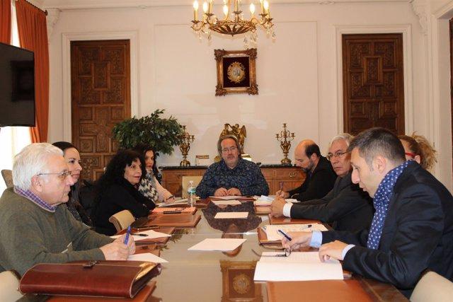 Reunión del Patronato León Felipe
