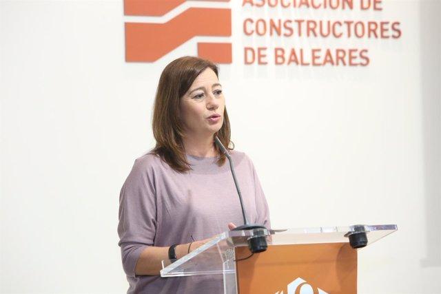 Armengol destaca el papel de los constructores en el - Asociacion constructores baleares ...