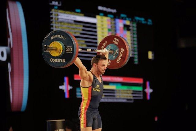 Josue Brachi, bronce en el Mundial de Anaheim