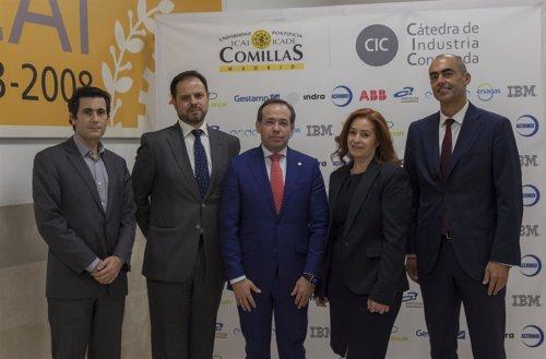 Daniel Seseña, Juan Bachiller, Mariano Ventosa, Dolores Salcedo y René González